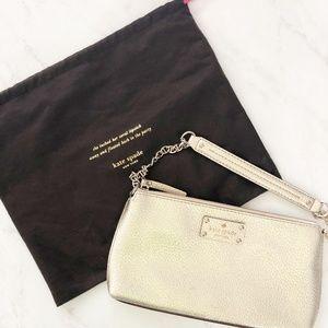 kate spade Wellesley Byrd Small Shoulder Bag Gold
